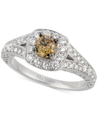 Le Vian Bridal Diamond Engagement Ring 9 10 Ct. T.W. In 14K White Gold