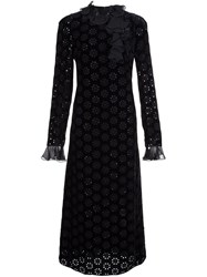 Giambattista Valli Longsleeved Mid Length Dress Black