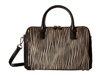 Vera Bradley Marlo Satchel Uptown Stripes Satchel Handbags Brown