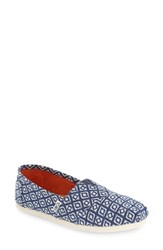Toms Women's 'Classic' Slip On Dark Blue
