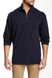 Tommy Bahama New Eversuede Half Zip Pullover Blue