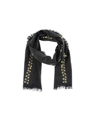 Antik Batik Oblong Scarves Black