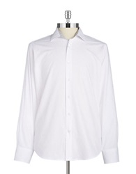 Tallia Orange Jacquard Sportshirt White
