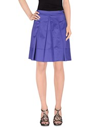 Paul And Shark Skirts Knee Length Skirts Women Purple