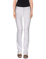 Victoria Beckham Denim Denim Denim Trousers Women White