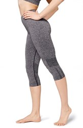 Women's Ivy Park Seamless Capri Leggings Mid Grey Marl