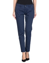 No. Sit Casual Pants Dark Blue