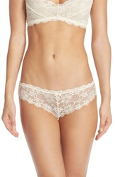 Honeydew Intimates Women's 'Camellia' Lace Thong Dreamy Cream