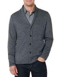 Perry Ellis Button Front Cardigan Grey