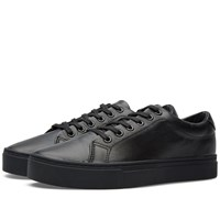 Saturdays Surf Nyc Saturdays Derek Leather Tennis Sneaker Black