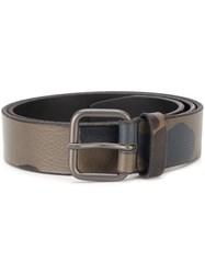 Orciani Camouflage Belt Multicolour