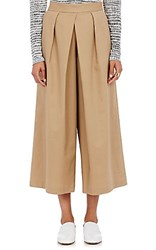 Tomorrowland Women's Pleated Culottes Tan