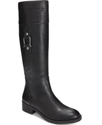 Styleandco. Style Co. Astarie Riding Boots Only At Macy's Women's Shoes Black