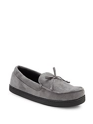 Totes Mock Toe Slip On Loafers Ash