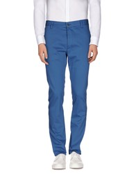 Galliano Trousers Casual Trousers Men Pastel Blue