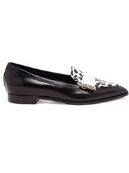Nicholas Kirkwood Pointed Toe Loafers Black