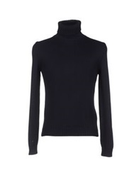 Zanone Turtlenecks Dark Blue