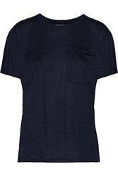 10 Crosby By Derek Lam Jersey T Shirt Blue