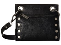 Hammitt Tony Black Antique Cross Body Handbags