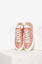 Nasty Gal Chuck Taylor All Star Irisdescent Leather Sneaker