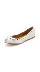 Marc By Marc Jacobs Punk Mouse Ballerina Flats Talc