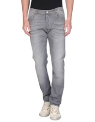 Officina 36 Denim Pants Grey