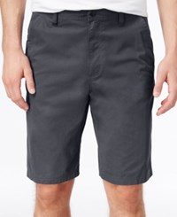 Hawke And Co. Outfitter Hake And Co. Outfitter Men's Flat Front Stretch Shorts Gun Metal