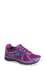 Brooks 'Adrenaline Asr 12' Water Resistant Running Shoe Women Purple Cactus Flower