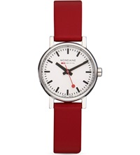 Mondaine A6583030111sbc Evo Red Watch White
