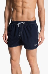 Boss 'Lobster' Volley Swim Shorts Men Navy