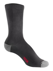 Craghoppers Nosilife Travel Twin Pack Socks Black