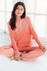 Out From Under Not So Sorry Hoodie Sweatshirt Peach