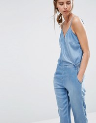 Ditto's Donna Jumpsuit Light Enzyme Blue