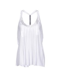 Jersey Costume National Tops White