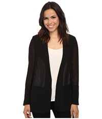 French Connection Shimmer Spell Blazer Black Women's Jacket