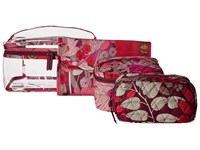 Vera Bradley Travel Cosmetic Set Bohemian Blooms Cosmetic Case Multi
