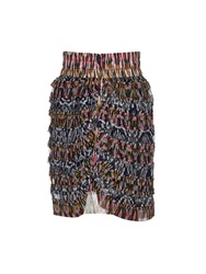 Isabel Marant Piero Ruffle Silk Skirt