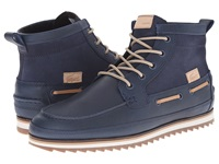 Sauville Mid 8 Navy Navy Men's Lace Up Boots Blue