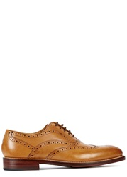 Oliver Sweeney Aldeburgh Toffee Leather Brogues Tan