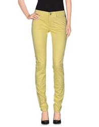 Replay Casual Pants Yellow