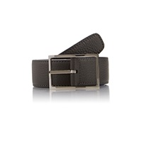 Reversible Leather Belt Gray