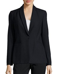 Elie Tahari Stretch Wool Blazer Navy