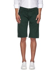 Bikkembergs Trousers Bermuda Shorts Men Green