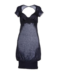 Ermanno Scervino Lingerie Nightgowns Dark Blue