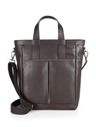 Salvatore Ferragamo Nadir Tote Bag Dark Brown