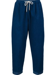 Umit Benan Regular Trousers Blue
