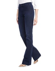 Nydj Paris Cotton Blend Denim Pants Paris Nights
