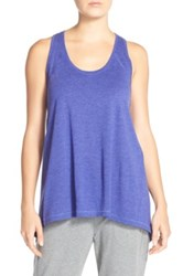 Zella 'Sunset' Racerback Tank Purple