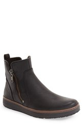 John Varvatos Men's Star Usa 'Barrett' Zip Boot Black