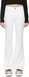 Stella Mccartney White 70'S Flare Jeans